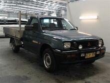 1996 Mitsubishi Triton MK GLX Green 5 Speed Manual Beresfield Newcastle Area Preview