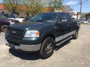 2005 Ford F-150 XLT 4X4 6 Places Extra Clean 170 000km