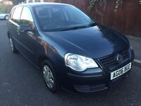 VOLKSWAGON POLO 1.2, 2006, 5 DOOR, FULL SERVICE HISTORY, 2 KEYS BARGAIN £1350