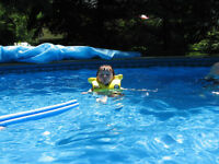 Pool Winter and Leaf Blankets
