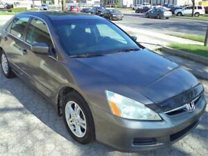 2007 Honda Accord Sdn SE LOW 109000KM ACCIDENT FREE VERY ECONOMI