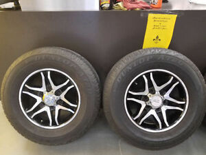 Mags 17'' American Racing sur Pneu Dunlop at20P265-70R17 4035023