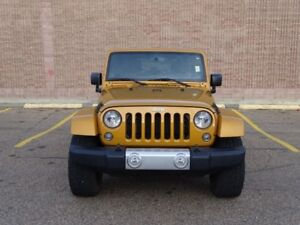 2014 Jeep Wrangler Unlimited 4WD SAHARA  Accident Free,  Navigat