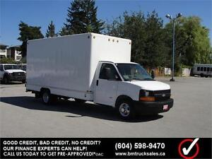 2007 CHEVROLET EXPRESS 3500 CUBE VAN 15 FT. BOX *DURAMAX DIESEL*