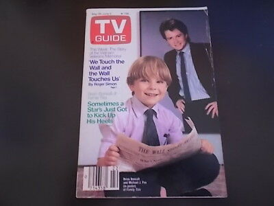 Brian Bonsall  Family Ties   Tv Guide Magazine 1988