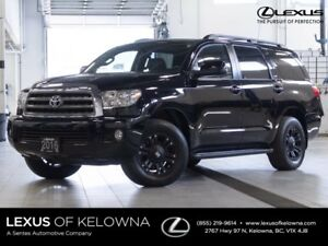 2016 Toyota Sequoia SR5 Package w/Fuel Wheels and WInter Tire Pa