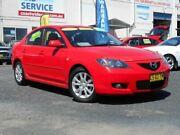 2007 Mazda 3 BK MY06 Upgrade Maxx Sport Red 5 Speed Manual Sedan Tuggerah Wyong Area Preview