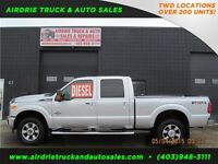 2011 Ford Super Duty F-350 Crew Cab Short Box 4X4 Diesel Lariat