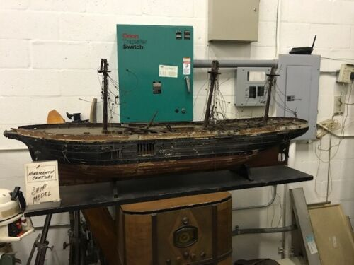 antique  early 19th century ship model