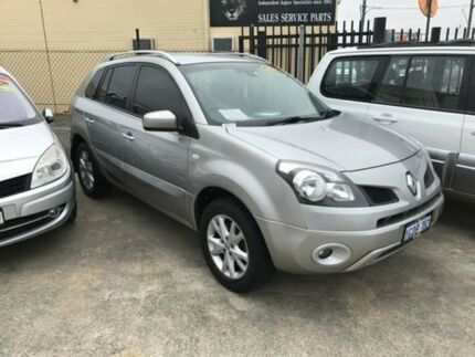 2009 Renault Koleos H45 Dynamique Silver 1 Speed Constant Variable Wagon St James Victoria Park Area Preview