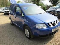 2008 Volkswagen Caddy 1.9TDI PD ( 104PS ) C20 NO VAT GENUINE MILES