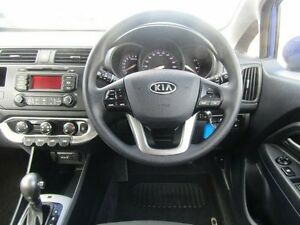 2011 Kia Rio JB MY11 S Blue 4 Speed Automatic Hatchback Earlville Cairns City Preview