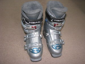 ladies Head EZon 6.5 ski boots, size 24.5