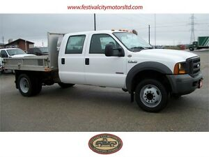 2005 Ford F-550 SD Crew Cab | DIESEL | Flat bed