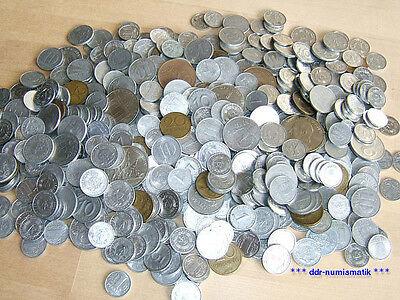 Über 500 DDR-Münzen *** 1 Pf. bis 20 Mark, 1948-1989 !