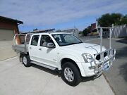 2007 Holden Rodeo RA MY07 LTZ Crew Cab White 5 Speed Manual Utility Mount Lawley Stirling Area Preview