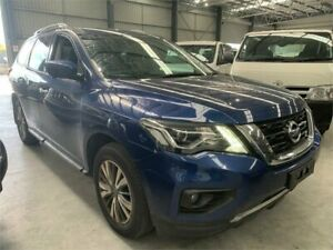 2018 Nissan Pathfinder R52 Series II MY17 ST-L X-tronic 2WD Blue 1 Speed Constant Variable Wagon Boolaroo Lake Macquarie Area Preview
