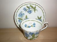 HOUSE OF GLOBAL ART CUP AND SAUCER - JULY