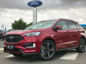 2018 Ford Endura CA 2019MY ST-Line SelectShift AWD Red 8 Speed Sports Automatic Wagon Kilmore Mitchell Area Preview