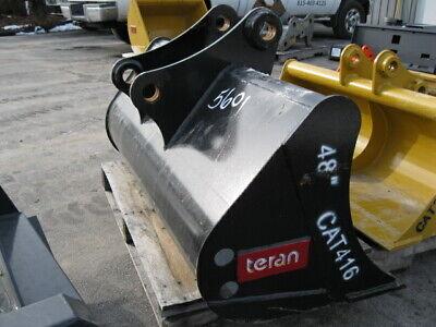 New Teran Caterpillar 416 426 428 436 48 Cat Ditch Grading Bucket Backhoe Il