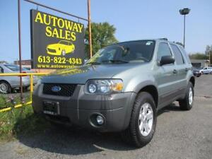 2007 Ford Escape XLT V6 FWD Automatic