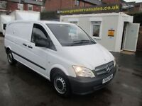 MERCEDES-BENZ VITO CDI TURBO DIESEL SIX SPEED MULTIFUNCTION STEERIN (white) 2012
