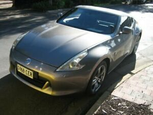 2010 Nissan 370Z Z34 MY10 Brilliant Silver 6 Speed Manual Coupe Prospect Prospect Area Preview