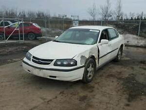 parting out 2003 chev impala