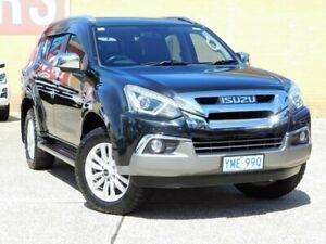 2017 Isuzu MU-X UC MY16.5 LS-T (4x4) Black 6 Speed Automatic Wagon