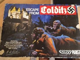 Parkers - 'Escape from Colditz' 1973 board game