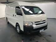 2015 Toyota Hiace KDH221R HIGH ROOF SUPER LWB White Automatic Van Albion Brimbank Area Preview