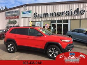 2017 Jeep Cherokee Trailhawk Leather Plus SAVE HUGE MONEY !