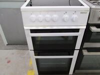 *****BEKO WHITE 50 CM ELECTRIC CERAMIC TOP COOKER/VERY CLEAN/SUPER WORKING/GREAT CONDITION/FREEDELIV