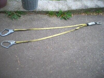 French Creek 6 Ft Shock Absorbing Web Lanyard 310 Lb Capacity