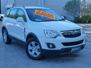 2011 Holden Captiva CG Series II 5 White 6 Speed Sports Automatic Wagon Mayfield East Newcastle Area Preview