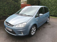 2008 Ford C Max 2.0 TDCi Zetec 136 - 77,400 miles - Full Ford Service History