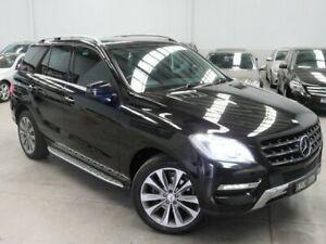 2013 Mercedes-Benz M-Class W166 ML350 BlueTEC 7G-Tronic + Black 7 Speed Sports Automatic Wagon Seaford Frankston Area Preview
