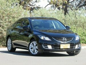 2009 Mazda 6 GH1051 MY09 Classic Black 5 Speed Sports Automatic Sedan Blair Athol Port Adelaide Area Preview