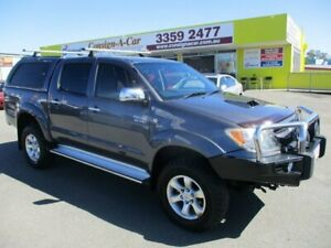 2008 Toyota Hilux KUN26R MY08 SR5 Grey 4 Speed Automatic Utility Kedron Brisbane North East Preview