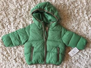 Brand New Baby Boy Zara 9-12 Months Winter Jacket