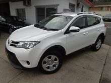 2013 Toyota RAV4 ZSA42R GX 2WD White Continuous Variable Wagon Sylvania Sutherland Area Preview