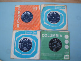 Records - 13 off 45rpm Old Singles
