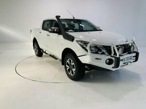 2017 Mazda BT-50 UR0YG1 XTR White 6 Speed Sports Automatic Utility Cooee Burnie Area Preview
