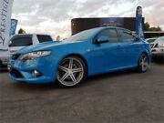 2010 Ford Falcon FG Upgrade XR6T Blue 6 Speed Auto Seq Sportshift Sedan Mount Hawthorn Vincent Area Preview