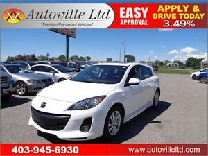 2012 Mazda Mazda3 GS-SKY HEATED LEATHER SEATS EVERYONE APROVED