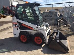 2004  BOBCAT 463 SKID STEER LOADER-CAB WITH HEAT