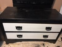 TV STAND/CHEST OF DRAWERS UPCYCLED GOOD QUALITY