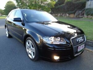 2007 Audi A3 8P Sportback 2.0 TDI Ambition 6 Speed Direct Shift Hatchback Chermside Brisbane North East Preview