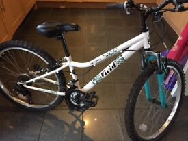 """Apollo Vivid 24"""" girls bike -age 8-11 -vvgc as hardly used - these are £155 new!"""