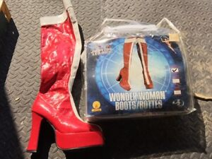 Wonder Woman boots for 60s size 6
